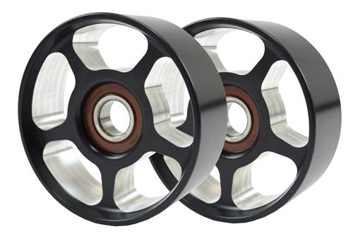 BilletFlow F-150 SVT Lightning 100mm Idler Pulley Pair (99-04)