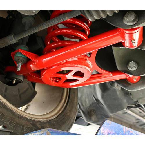 BMR Mustang Front Control Arms w/ Tall Ball Joint  - Red (94-04) BMR-AA043R