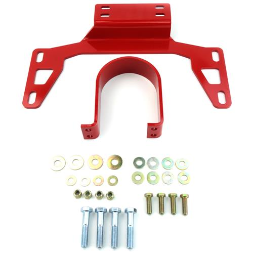 BMR Mustang Driveshaft Safety Loop Red (11-14) V6-GT-Boss DSL017R