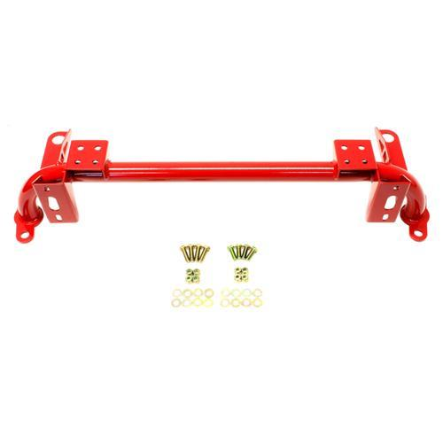 BMR Mustang Tubular Radiator Support Red (05-14) RS003R