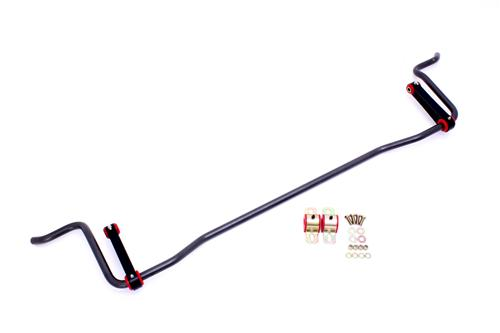 "Picture of BMR Mustang 7/8"" Rear Sway Bar Black Hammertone (05-14) SB023B"