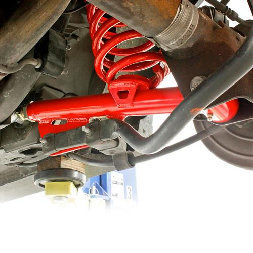 BMR Mustang On-Car Adjustable Rear Lower Control Arms  - Red (79-98) TCA051R