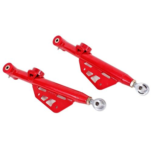 BMR Mustang Single Adjustable Rear Lower Control Arms  - Red (99-04) TCA053R