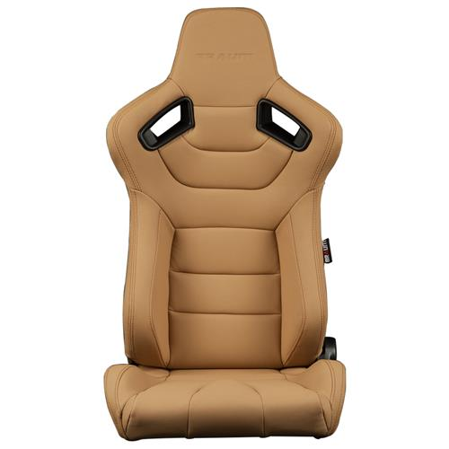 Braum Racing Elite Series Racing Seats  - Tan w/ Black Stitching BRR1-BGBW