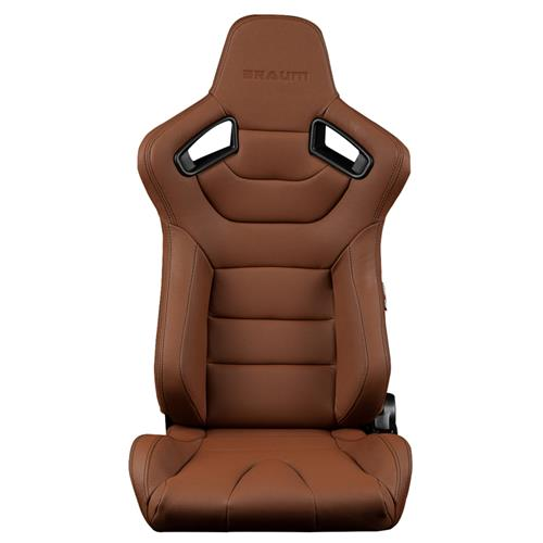 Braum Racing Elite Series Racing Seats  - Brown/Black BRR1-CPBS