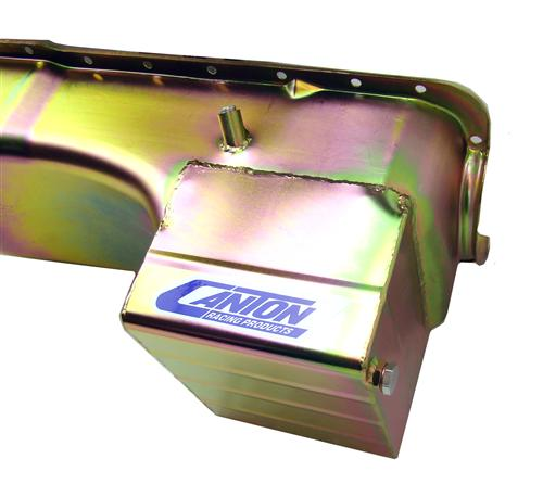 Canton Mustang Street/Strip Deep Sump Oil Pan Kit (79-95) 5.0