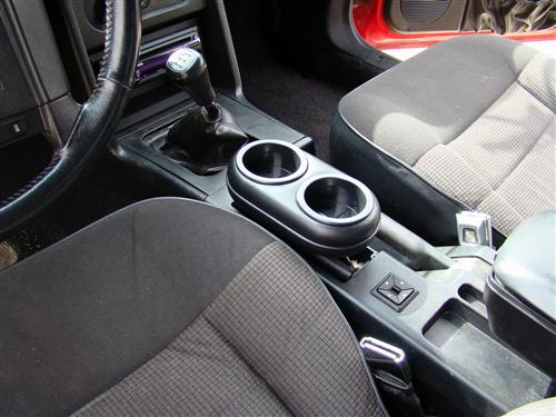 Mustang Plug And Chug Cup Holder Black (87-97)