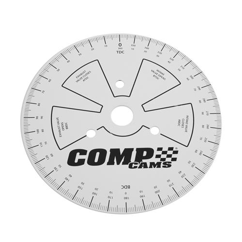 Comp Cams Cam Degree Wheel