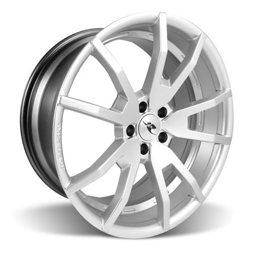 05-15 MUSTANG 20X9 CDC OUTLAW WHEEL HYPER SILVER
