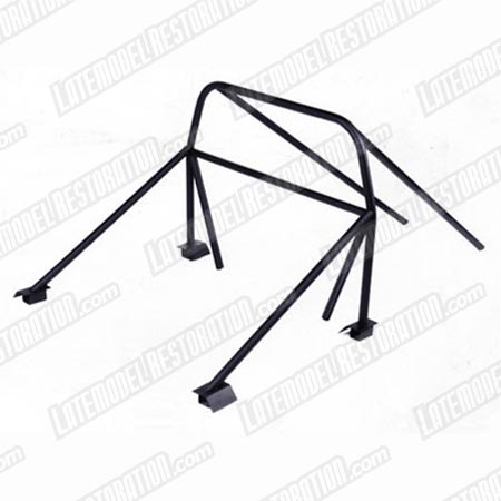 79-93 MUSTANG 8 POINT MILD STEEL ROLL BAR KIT