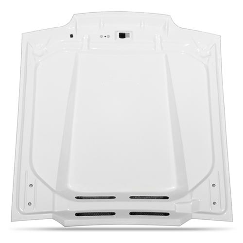"Mustang Fiberglass Cowl Induction Hood 2.5"" Rise (87-93) 105"