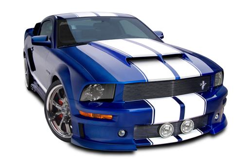 Cervini's Mustang Ram Air Hood (05-09) 1171