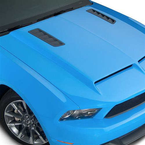 Cervinis Mustang Ram Air Hood w/ Louvers (10-12) 1226