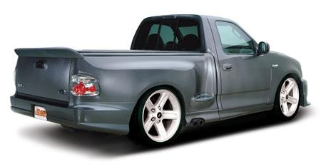 1999 04 F 150 Svt Lightning Urethane Rear Bumper By Cervinis