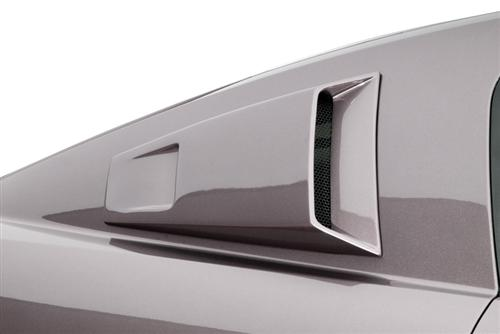 mustang window louvers