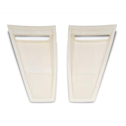 Cervini's Mustang C-Series Quarter Window Scoops (10-14) 4387