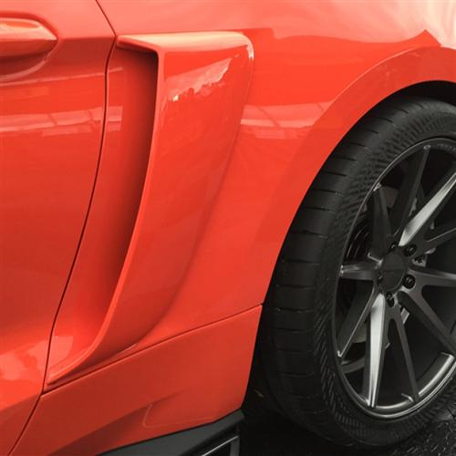 Cervinis Mustang Side Scoops (15-16) 4439