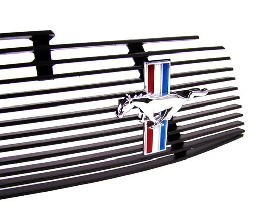 Cervinis  Mustang Black Upper Billet Grille with Pony Emblem (10-12) 7253B