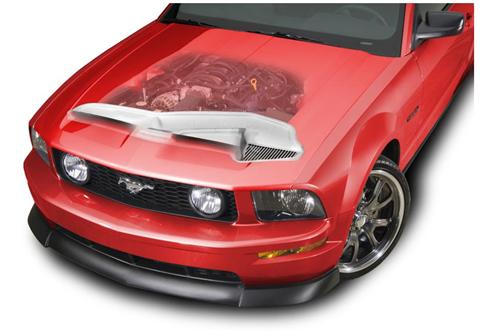 Cervini's Mustang B2 Ram Air Kit for CER-1176 (05-09) 8029