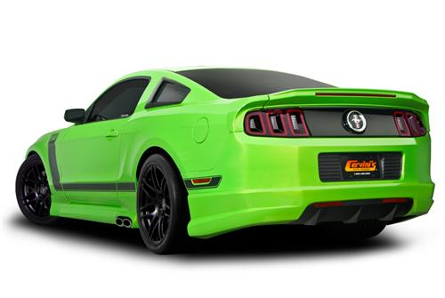 Cervini S Mustang 3 Side Exhaust Kit W Skirts And Rear
