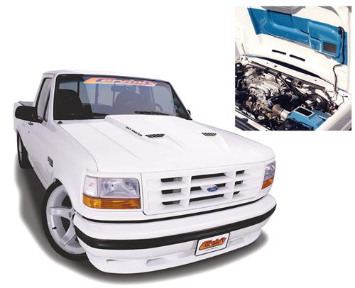 F-150 SVT Lightning Fiberglass Hood with Ram Air Kit (93-95) 9009