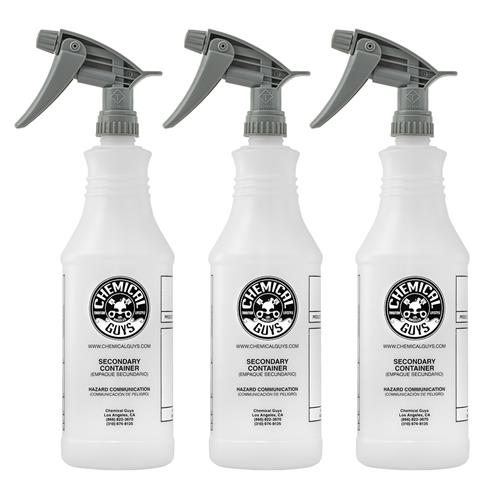 Chemical Guys Heavy Duty Spray Bottles - 3 Pack