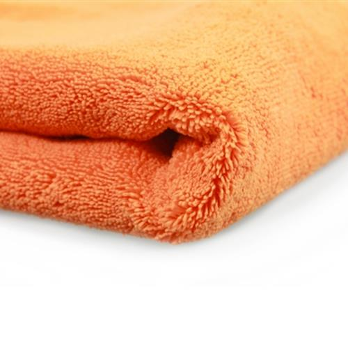 "Chemical Guys Big Mouth Large Microfiber Drying Towel  - Orange 36"" x 25"""
