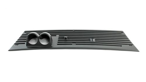 "1983-93 Mustang 2 5/8"" Double Gauge Cowl Vent Grill"