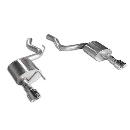 "Corsa Mustang 3"" Sport Catback Exhaust  - Polished Tips (15-17) GT 14332"