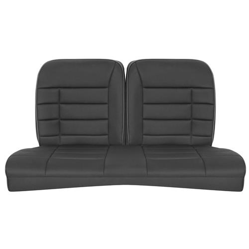 Corbeau Mustang GTS 2 Seat & Rear Upholstery Kit  - Black Cloth (79-93) Coupe