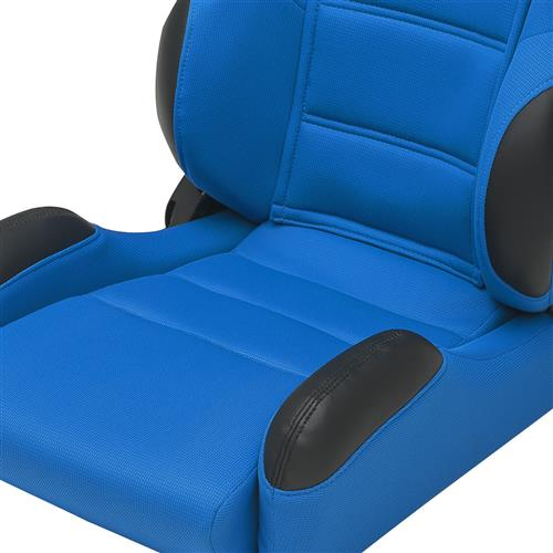 Corbeau CR1 Seat Pair Blue Cloth 20905