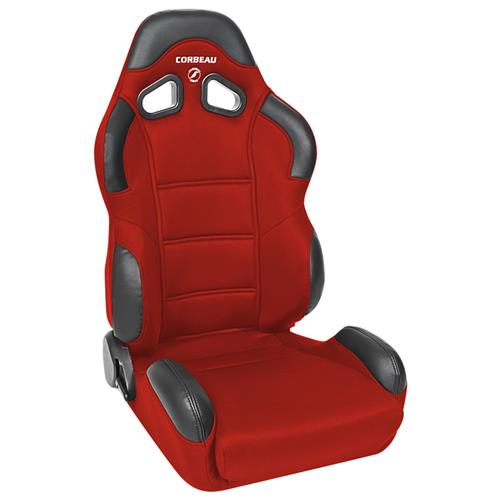 Corbeau Mustang CR1 Seat Pair Red Cloth 20907