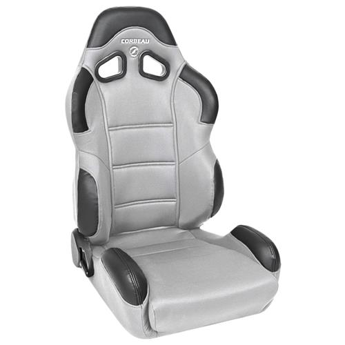 Corbeau Mustang CR1 Wide Seat Pair Gray Cloth 20909W