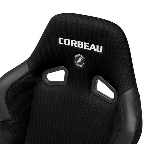 Corbeau Mustang Forza Wide Seat  Black Cloth 20991