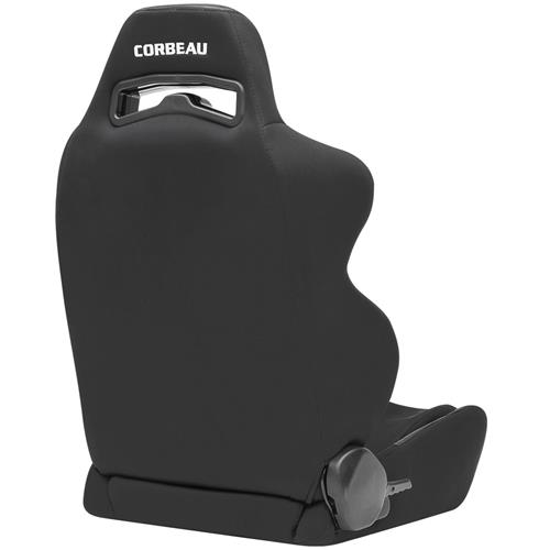 Corbeau Mustang LG1 Wide Seat Pair Black Cloth 25501W