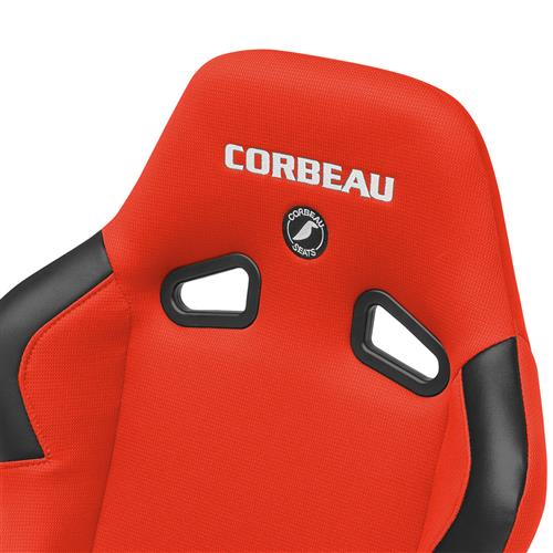 Corbeau Mustang Forza Seat Red Cloth 29107