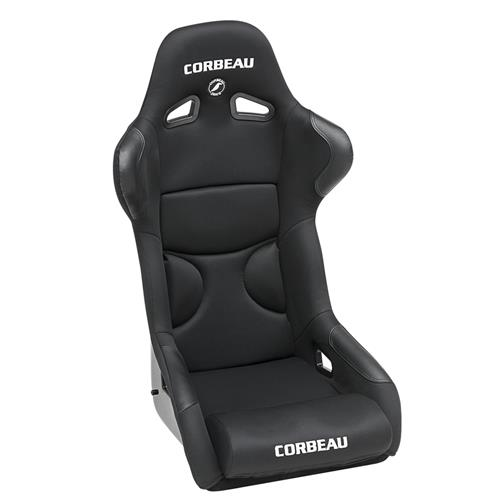 Corbeau Mustang FX1 Wide Seat Black Cloth 29501W