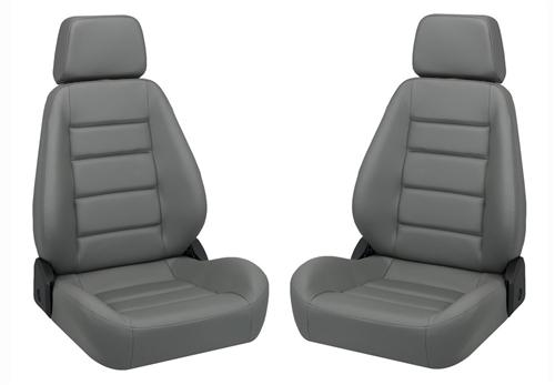 Picture of Corbeau Sport Seat Pair Gray Vinyl