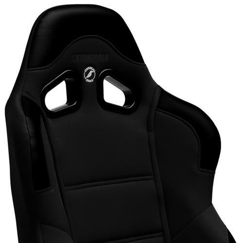 Corbeau Mustang CR1 Seat Pair Black Leather L20901PR