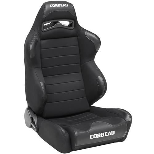 Corbeau Mustang LG1 Leather Seat Pair (79-14) L25501PR