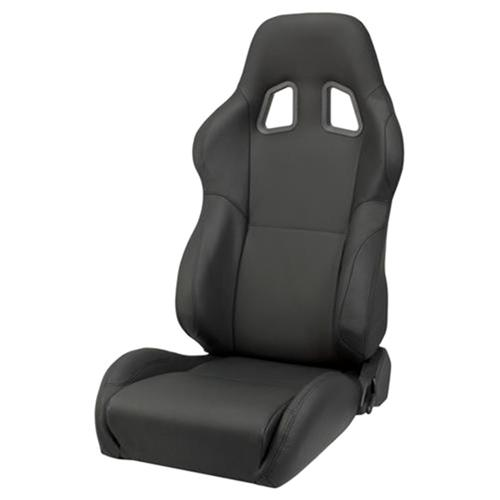 Corbeau Mustang A4 Seat Pair Black Leather L60091