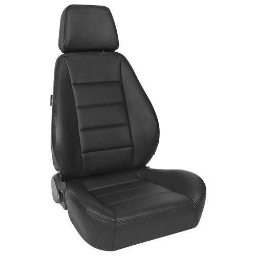 Corbeau Leather Sport Seat - Black L90001