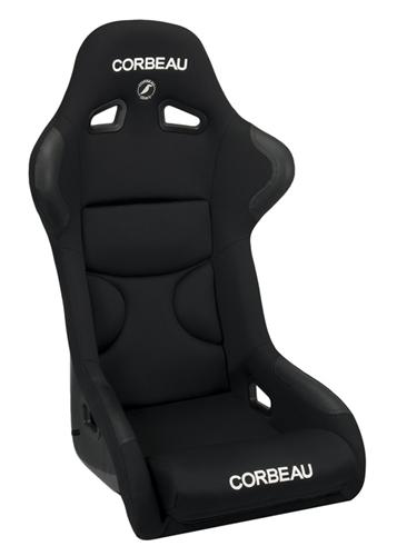 Corbeau FX1 Pro Seat  - Black Microsuede S29501P