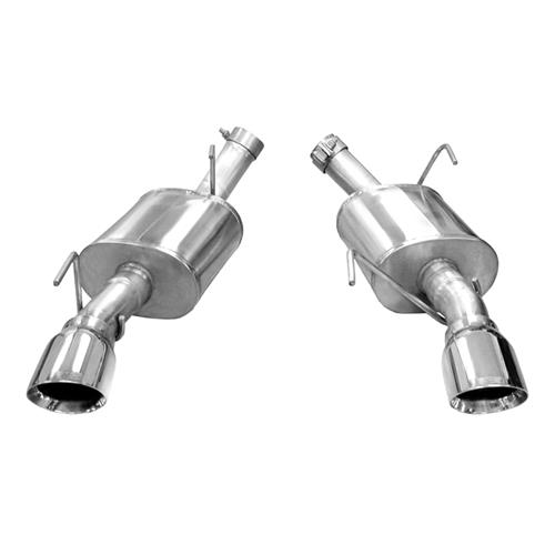 Corsa Mustang XTREME Axleback Exhaust System  - Polished Tips (05-10) 14314