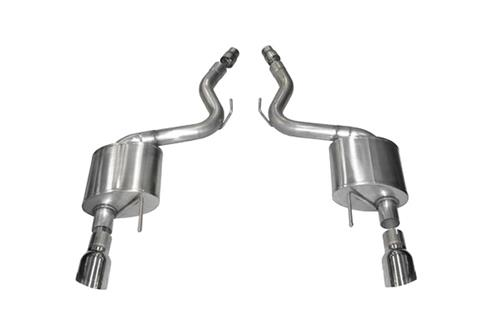 "2015-2016 FORD MUSTANG 5.0 3"" AXLEBACK W/ 4.5"" SINGLE POLISHED TIPS"