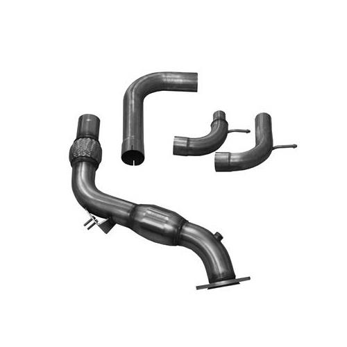 Corsa Mustang Catalytic Down Pipe (15-17) Ecoboost 14344