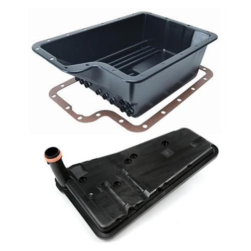 F-150 SVT Lightning Deep Transmission Cooling Pan & Filter (93-04) E4od4r100