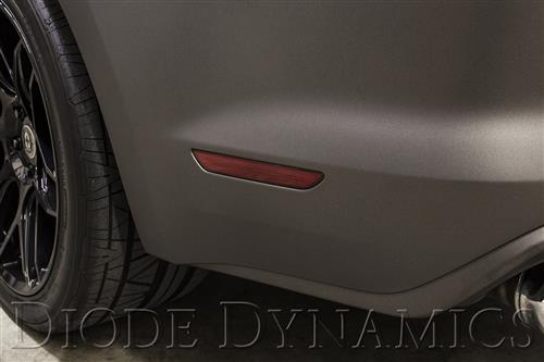 Diode Dynamics Mustang LED Rear Sidemarker - Red Lens (15-16)