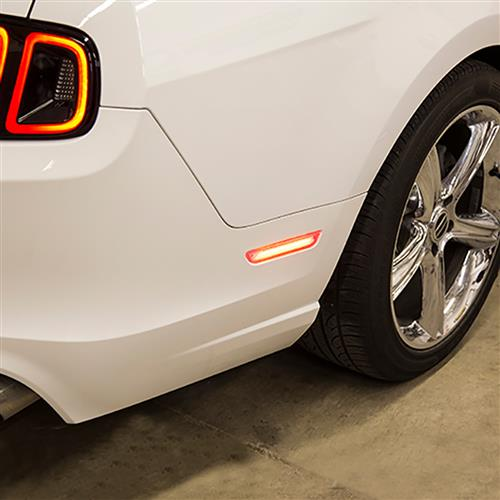 Diode Dynamics Mustang Front & Rear LED Side Marker Light Kit  - Clear (10-14) DD5058