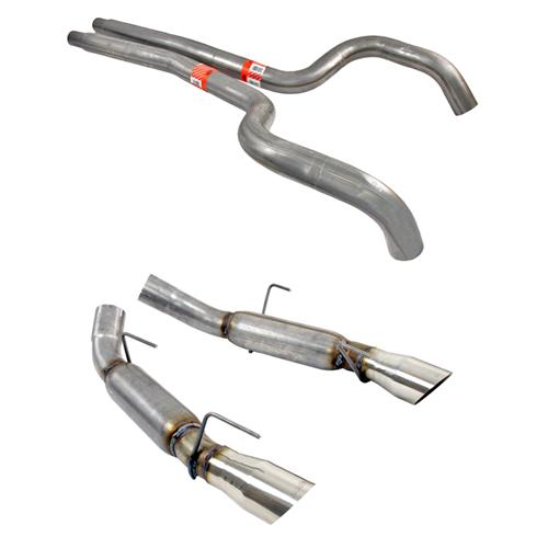 "Dynomax Mustang 3"" Ultra Flo Catback Exhaust (05-09) GT-GT500 39460"